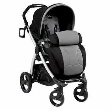 Peg Perego Book Plus 2013 Stroller Stone Black/Grey