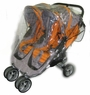 Sasha's Baby Jogger City Mini Double Rain and Wind Cover