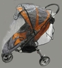 Sasha's Baby Jogger City Mini Single Rain and Wind Cover