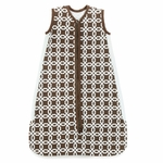 Skip Hop Chocolate Lattice Wearable Blanket
