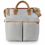 Skip Hop Duo Luxe French Stripe Diaper Bag