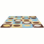 Skip Hop Playspot Foam Tiles Blue/Gold