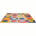 Skip Hop Playspot Foam Tiles Brights