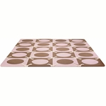 Skip Hop Playspot Foam Tiles Pink/Brown