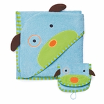 Skip Hop ZOO Hooded Towel & Mitt Set