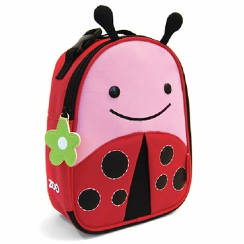 Skip Hop Zoo Lunchies Bag Ladybug