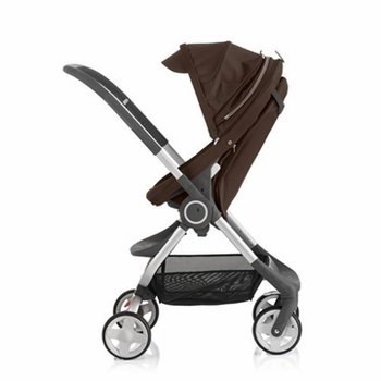 Stokke Scoot Stroller Brown