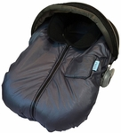 Tivoli Couture Infant Car Seat Jacket Charcoal