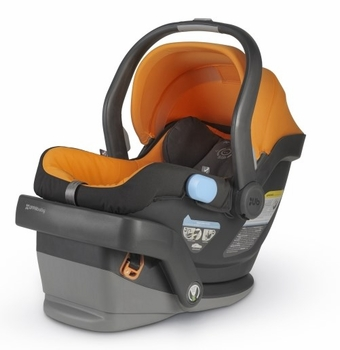 UPPAbaby Mesa Infant Car Seat Tangerine Drew