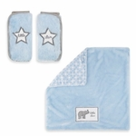 Wendy Bellissimo Travel Blanket & Strap Cover Sets