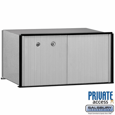 Salsbury 2270P 1 Door Aluminum Parcel Locker Private Access