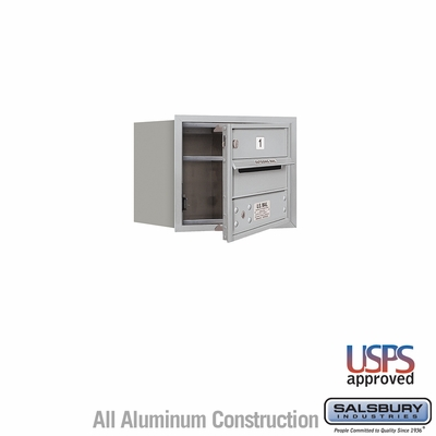 Salsbury 3703S-01AFU 4C Mailboxes 1 Tenant Doors Front Loading
