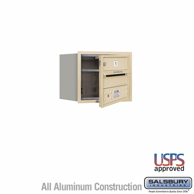 Salsbury 3703S-01SFU 4C Mailboxes 1 Tenant Doors Front Loading