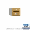 Salsbury 3703S-01GRP 4C Mailboxes 1 Tenant Doors Rear Loading