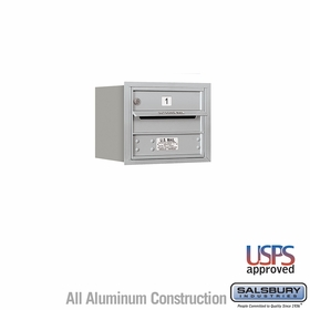 Rear Loading Horizontal Mailboxes 1 to 2 Doors