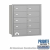 Salsbury 3610ARP 4B Mailboxes 9 Tenant Doors Rear Loading - Private Access