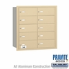 Salsbury 3610SRP 4B Mailboxes 9 Tenant Doors Rear Loading - Private Access