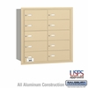 Salsbury 3610SRU 4B Mailboxes 9 Tenant Doors Rear Loading - USPS Access