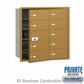 Salsbury 3610GFP 4B Mailboxes 9 Tenant Doors Front Loading - Private Access