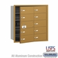 Salsbury 3610GFU 4B Mailboxes 9 Tenant Doors Front Loading - USPS Access