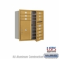 Salsbury 3709D-10GFU 4C Mailboxes 10 Tenant Doors Front Loading