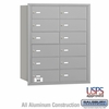 Salsbury 3612ARU 4B Mailboxes 11 Tenant Doors Rear Loading - USPS Access