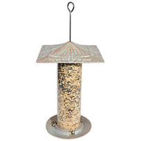 "Whitehall 12"" Dragonfly Silhouette Feeder - Oil Rub Bronze"