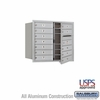 Salsbury 3707D-12AFU 4C Mailboxes 12 Tenant Doors Front Loading