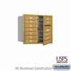 Salsbury 3707D-12GFU 4C Mailboxes 12 Tenant Doors Front Loading
