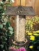 "Whitehall 12"" Trumpet Vine Tube Feeder - French Bronze"