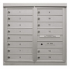 14 Single Height Tenant Doors Front Loading ADA54-D14 USPS Approved 4C Horizontal Mailboxes
