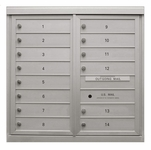 ADA 54 Series (Fully Compliant) - Anodized 4C Mailboxes