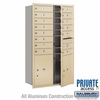 Salsbury 3713D-14SFP 4C Mailboxes 14 Tenant Doors Front Loading