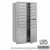 Salsbury 3713D-14AFU 4C Mailboxes 14 Tenant Doors Front Loading