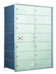 1400 Series Front-Loading Horizontal Mailboxes - 13 double wide doors