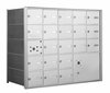 1400 Series Front-Loading Horizontal Mailboxes - 20 Doors and 1 Parcel Locker