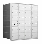 1400 Series Front-Loading Horizontal Mailboxes - 23 Tenant Doors And 1 USPS Master Door