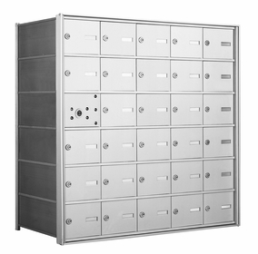 1400 Series Horizontal Front Loading Mailboxes - 29 Tenant Doors And 1 USPS Master Door