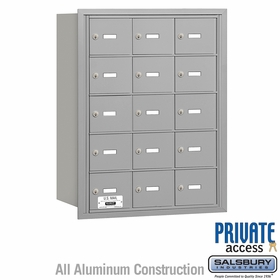 Salsbury 3615ARP 4B Mailboxes 14 Tenant Doors Rear Loading - Private Access