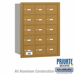 Salsbury 3615GRP 4B Mailboxes 14 Tenant Doors Rear Loading - Private Access