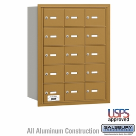 Salsbury 3615GRU 4B Mailboxes 14 Tenant Doors Rear Loading - USPS Access