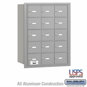 Salsbury 3615ARU 4B Mailboxes 14 Tenant Doors Rear Loading - USPS Access