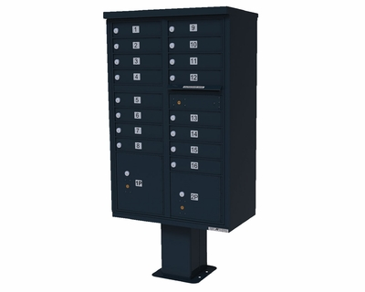 16 Door High Security CBU Black