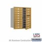 Salsbury 3709D-16GFU 4C Mailboxes 16 Tenant Doors Front Loading