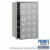 Salsbury 3618AFP 4B Mailboxes 17 Tenant Doors Front Loading - Private Access