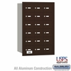 Salsbury 3618ZRU 4B Mailboxes 17 Tenant Doors Rear Loading - USPS Access