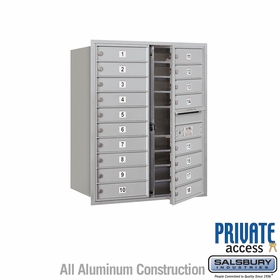 18 Doors - Front Loading Private 4C Mailbox