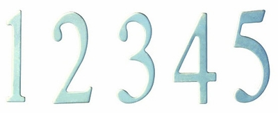 3 inch Stainless Steel Curbside Mailbox Numbers