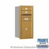 Salsbury 3709S-02GRP 4C Mailboxes 2 Tenant Doors Rear Loading