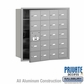 Salsbury 3620AFP 4B Mailboxes 19 Tenant Doors Front Loading - Private Access